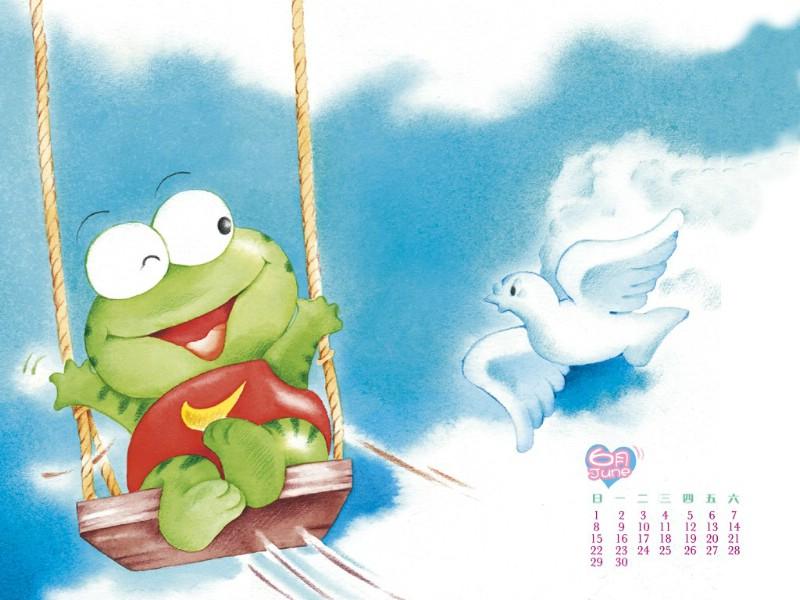 可爱动物卡通插画 儿童绘本插画