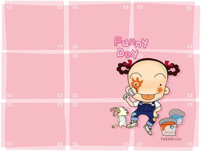 日本卡通壁纸 之 MRK卡通形象 MRK可爱卡通
