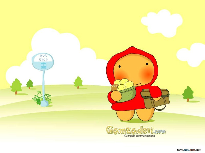 韩国卡通壁纸 gamzadori 小土豆dori 韩国可爱
