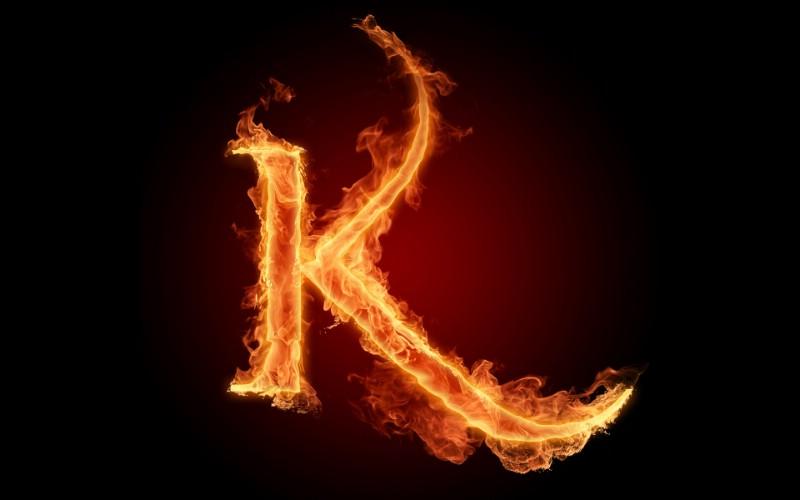 火焰字母壁纸_火焰英文字母qq头像