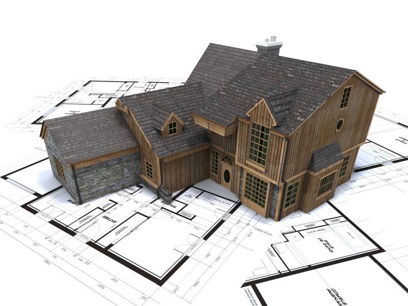建筑图纸,模型设计,建筑施工图