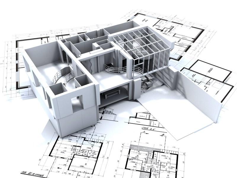 3D建筑施工蓝图壁纸 建筑蓝图壁纸 建筑蓝图图片 建筑蓝图素材 插画壁纸 插画图库 插画图片素材桌面壁纸