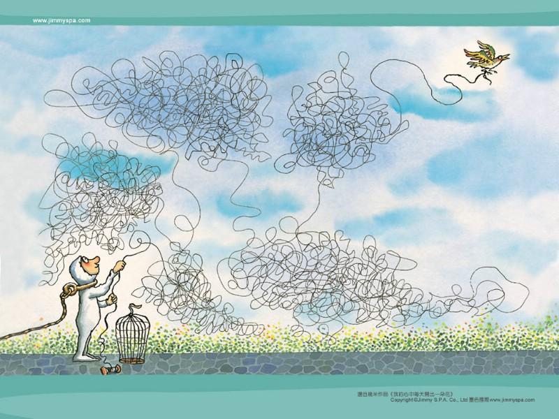 几米漫画绘本 我心中每天开出一朵花 我心中每