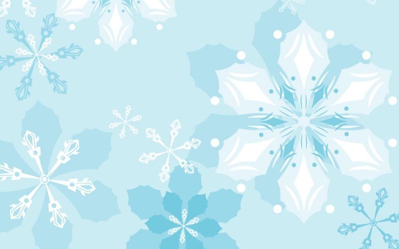 冬天的雪花简笔画内容图片展示