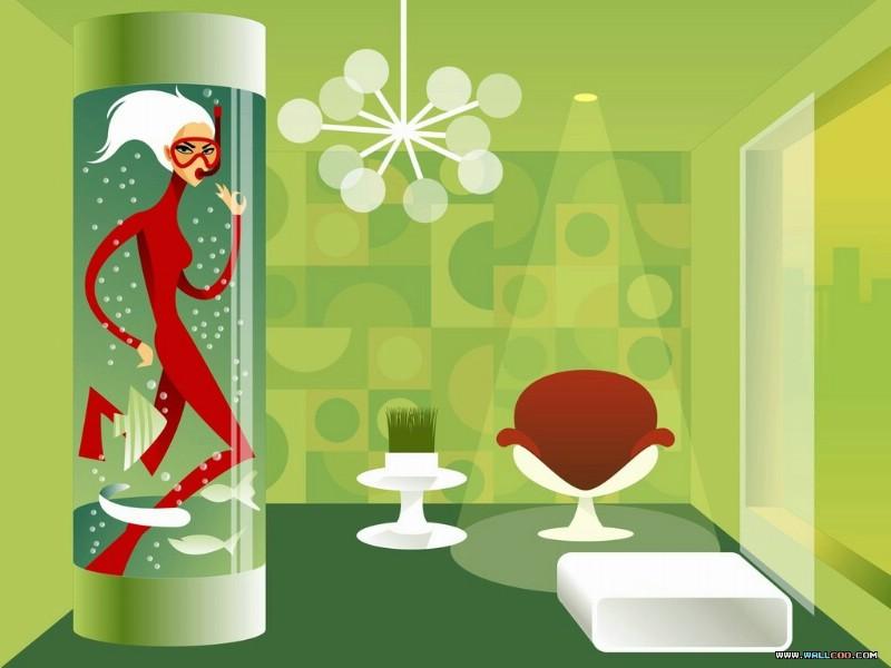 矢量时尚人物壁纸 Desktop Wallpaper of Vector Illustration of Young Woman壁纸 矢量时尚人物插画壁纸壁纸 矢量时尚人物插画壁纸图片 矢量时尚人物插画壁纸素材 插画壁纸 插画图库 插画图片素材桌面壁纸