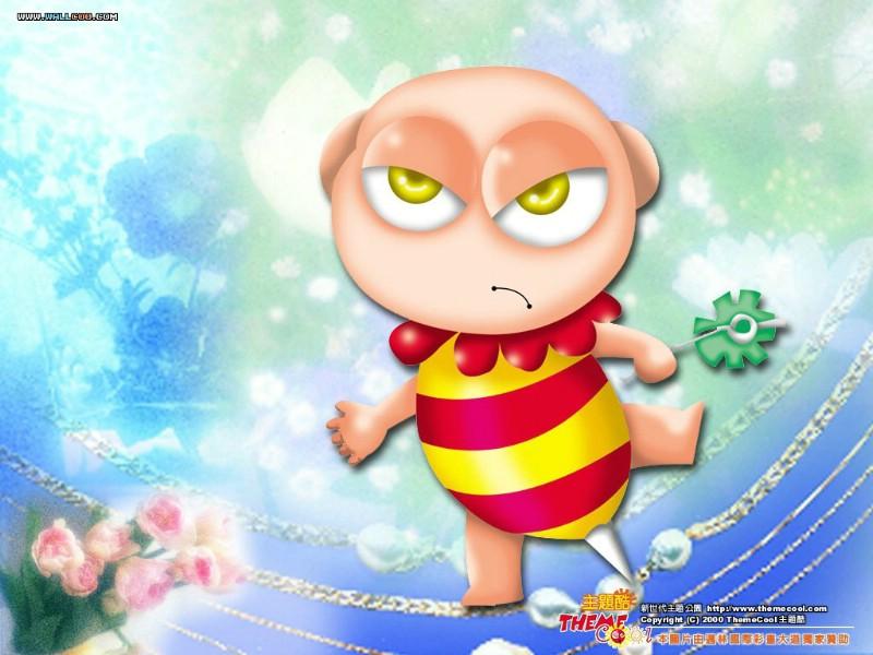 台湾卡通壁纸 卡通小宝贝 可爱卡通小孩子儿童壁纸 desktop wal