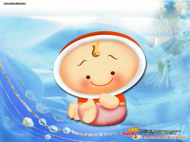 台湾卡通壁纸 卡通小宝贝