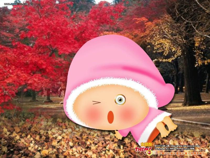 台湾卡通壁纸 卡通小宝贝 可爱卡通小宝贝小婴儿壁纸 desktop