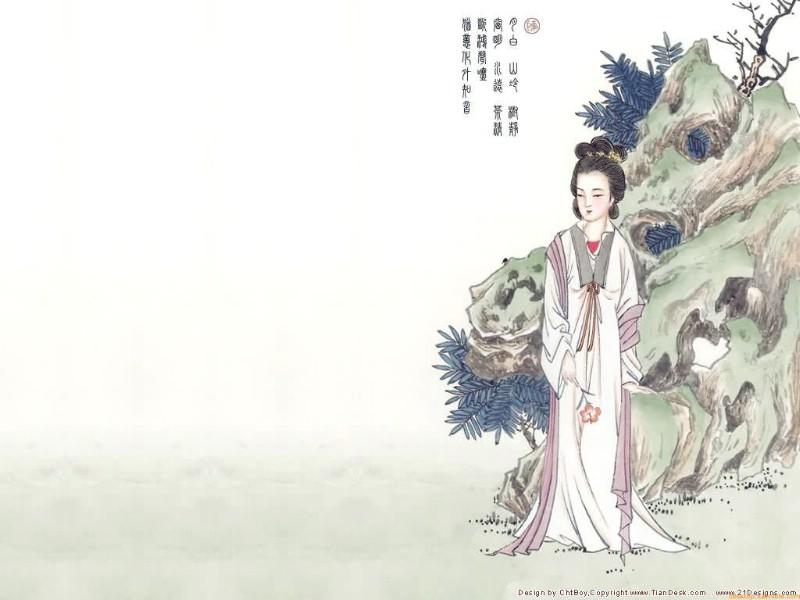 中国风封面素材诗苑