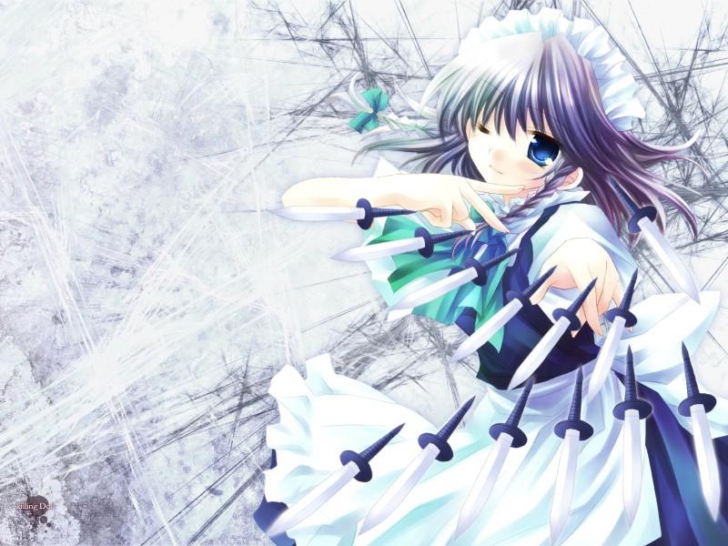 1600 1200 日本CG少女漫画壁纸壁纸 Hanabi