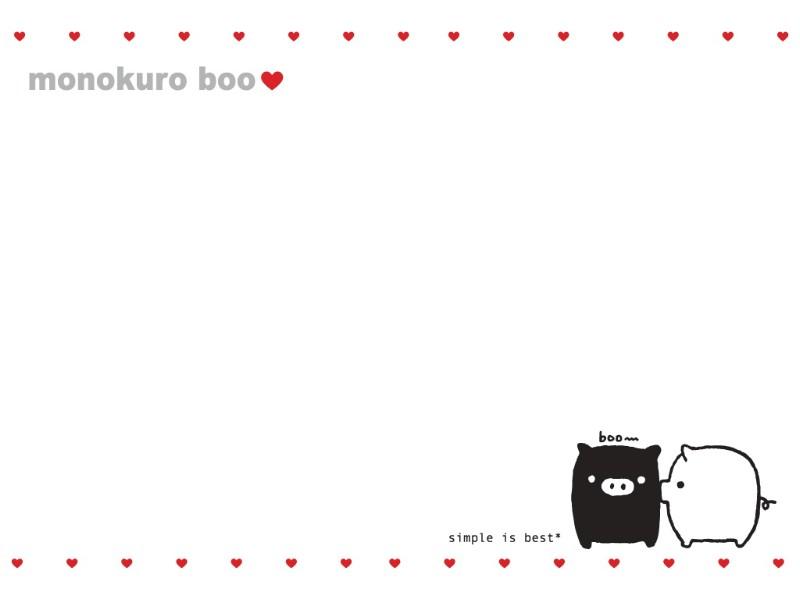 黑白猪 Mono KuRo BOO 壁纸3壁纸 黑白猪 (Mono壁纸 黑白猪 (Mono图片 黑白猪 (Mono素材 动漫壁纸 动漫图库 动漫图片素材桌面壁纸