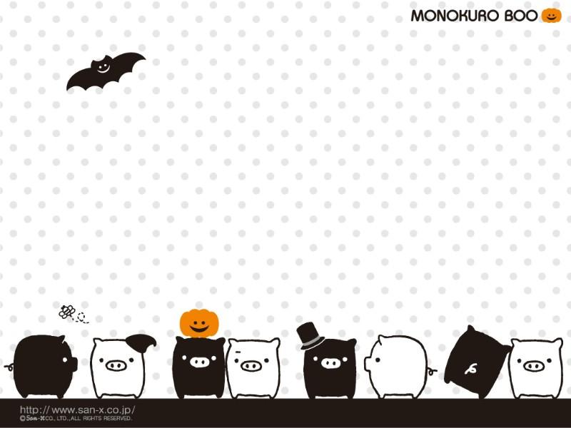 黑白猪 Mono KuRo BOO 壁纸5壁纸 黑白猪 (Mono壁纸 黑白猪 (Mono图片 黑白猪 (Mono素材 动漫壁纸 动漫图库 动漫图片素材桌面壁纸