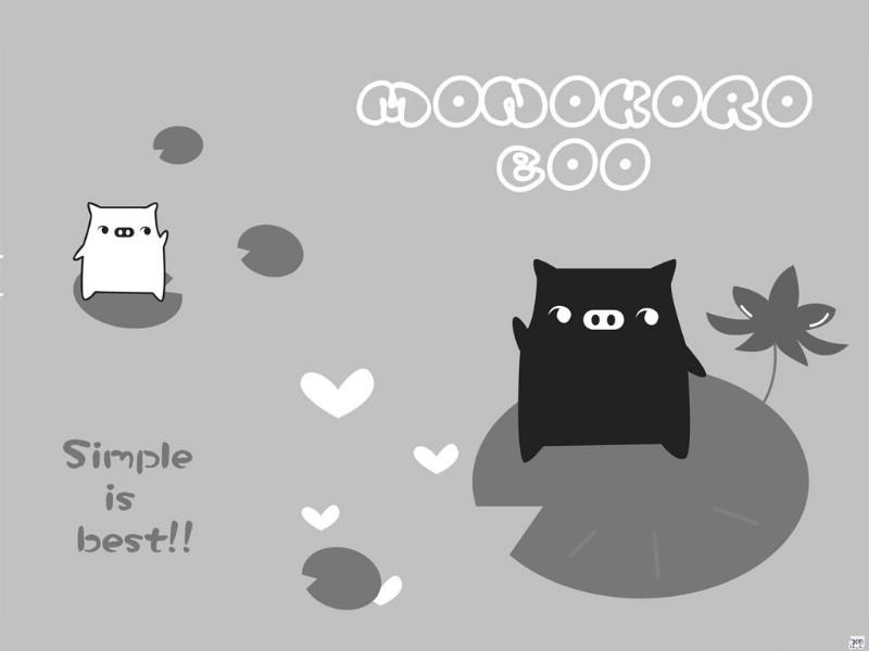 黑白猪 Mono KuRo BOO 壁纸12壁纸 黑白猪 (Mono壁纸 黑白猪 (Mono图片 黑白猪 (Mono素材 动漫壁纸 动漫图库 动漫图片素材桌面壁纸