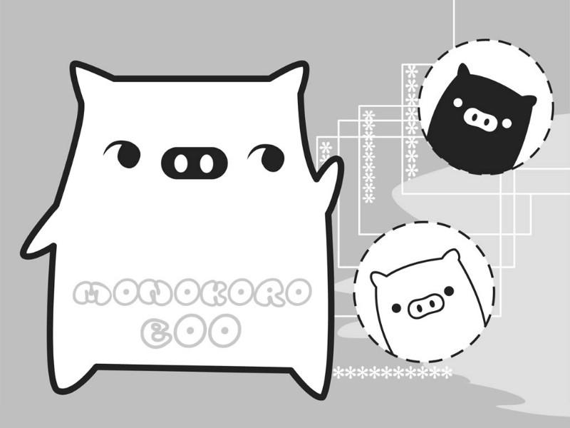 黑白猪 Mono KuRo BOO 壁纸21壁纸 黑白猪 (Mono壁纸 黑白猪 (Mono图片 黑白猪 (Mono素材 动漫壁纸 动漫图库 动漫图片素材桌面壁纸