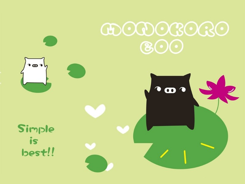 黑白猪 Mono KuRo BOO 壁纸24壁纸 黑白猪 (Mono壁纸 黑白猪 (Mono图片 黑白猪 (Mono素材 动漫壁纸 动漫图库 动漫图片素材桌面壁纸