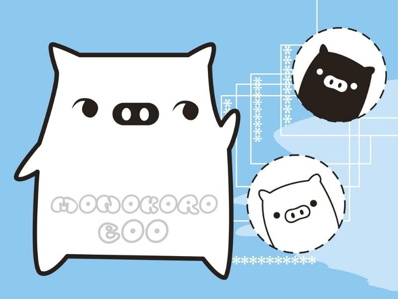 黑白猪 Mono KuRo BOO 壁纸25壁纸 黑白猪 (Mono壁纸 黑白猪 (Mono图片 黑白猪 (Mono素材 动漫壁纸 动漫图库 动漫图片素材桌面壁纸