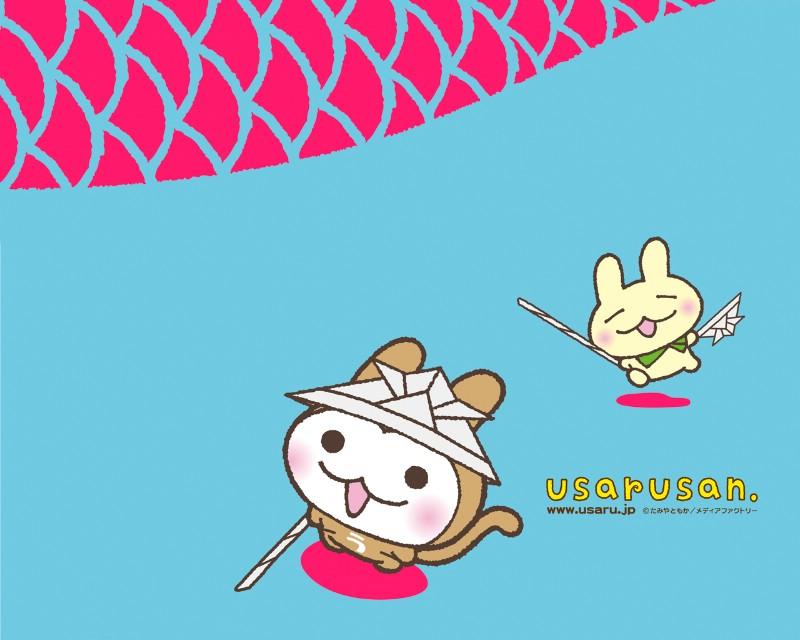 猴兔超人 可爱卡通壁纸 壁纸74