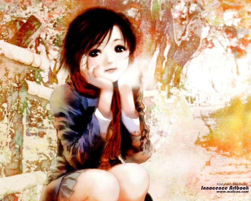可曾记得爱美树本晴彦少女经典漫画插画壁纸77水彩部图片