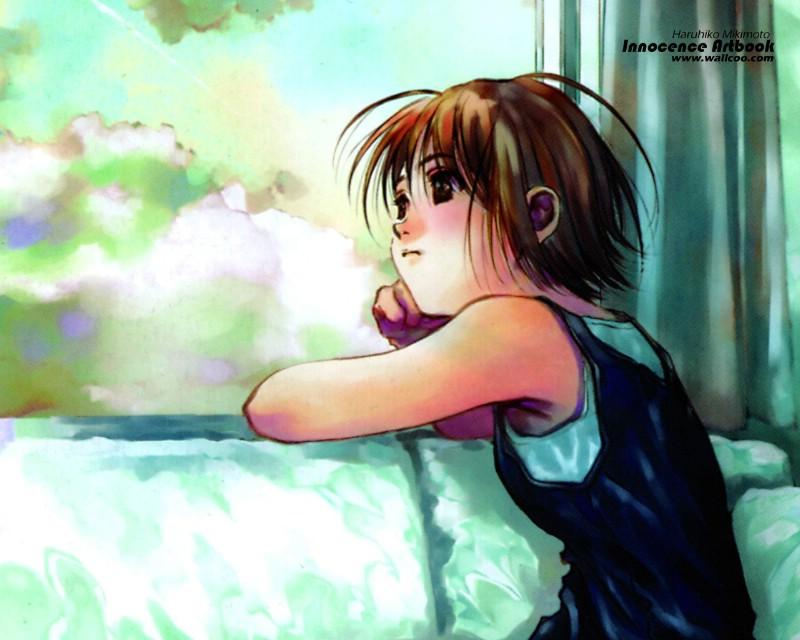 可曾记得爱美树本晴彦经典电车少女漫画壁纸插画亚美水彩图片