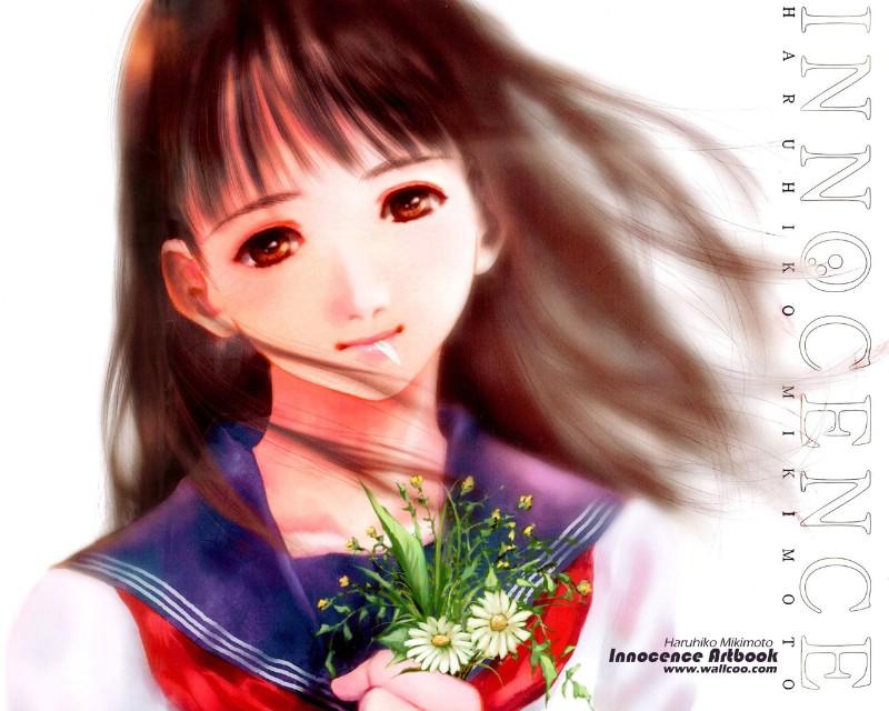 可曾记得爱美树本晴彦漫画少女彩色插画水彩壁纸缤纷经典图片