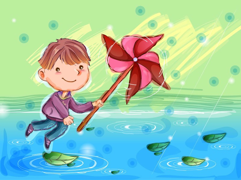 快乐童年卡通桌面壁纸壁纸 快乐童年卡通桌面