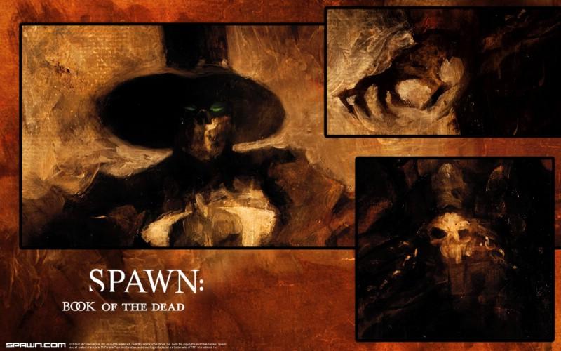 麦克法兰的黑暗漫画 Spawn再生侠壁纸 Spawn Book of ...