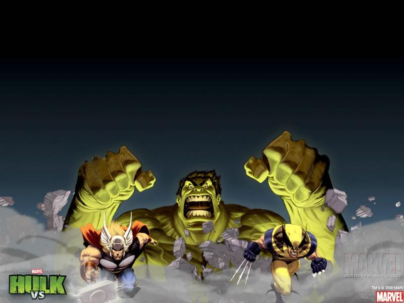 Marvel巨人漫画英雄第十六辑Hulk绿画魂Mav巨人街了镇漫壁纸不图片