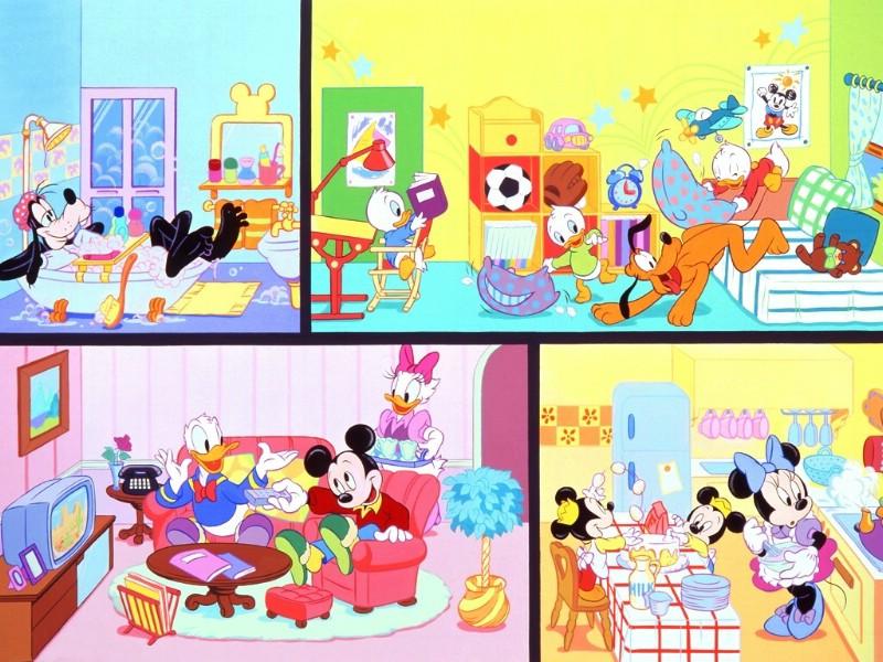 米老鼠和唐老鸭壁纸,米老鼠和唐老鸭壁纸图片 动漫壁纸 动...