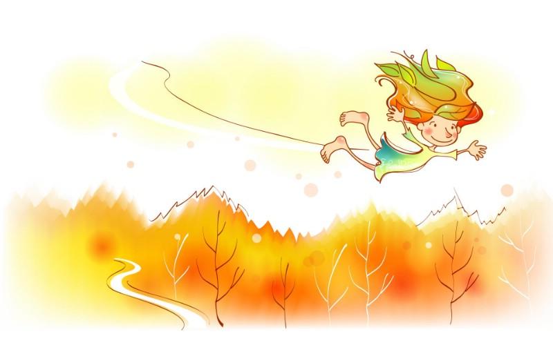 秋天的童话 橙色卡通宽屏壁纸 壁纸2壁纸 秋天的童话 橙色卡通壁纸 秋天的童话 橙色卡通图片 秋天的童话 橙色卡通素材 动漫壁纸 动漫图库 动漫图片素材桌面壁纸