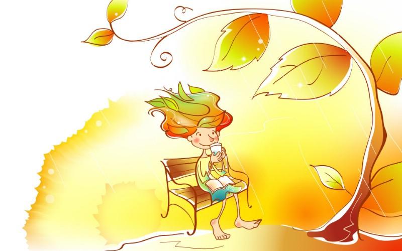 秋天的童话 橙色卡通宽屏壁纸 壁纸3壁纸 秋天的童话 橙色卡通壁纸 秋天的童话 橙色卡通图片 秋天的童话 橙色卡通素材 动漫壁纸 动漫图库 动漫图片素材桌面壁纸