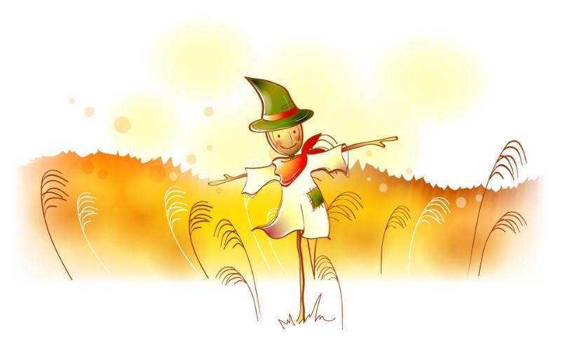 秋天的童话 橙色卡通宽屏壁纸 壁纸10壁纸 秋天的童话 橙色卡通壁纸 秋天的童话 橙色卡通图片 秋天的童话 橙色卡通素材 动漫壁纸 动漫图库 动漫图片素材桌面壁纸