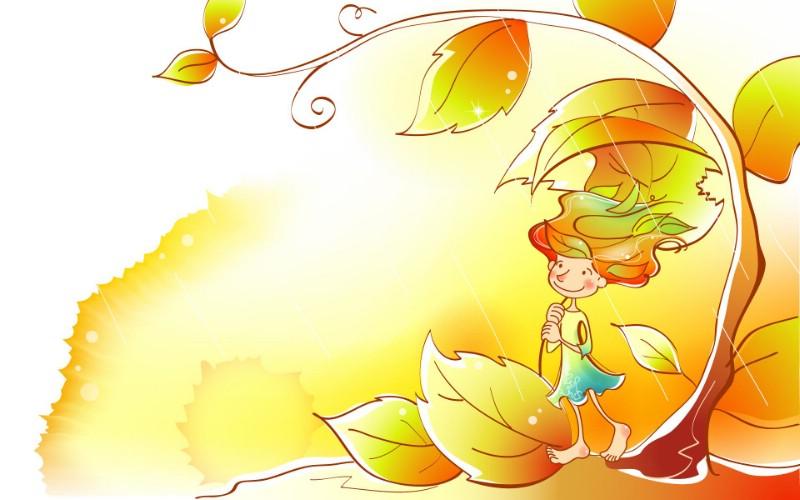 秋天的童话 橙色卡通宽屏壁纸 壁纸20壁纸 秋天的童话 橙色卡通壁纸 秋天的童话 橙色卡通图片 秋天的童话 橙色卡通素材 动漫壁纸 动漫图库 动漫图片素材桌面壁纸