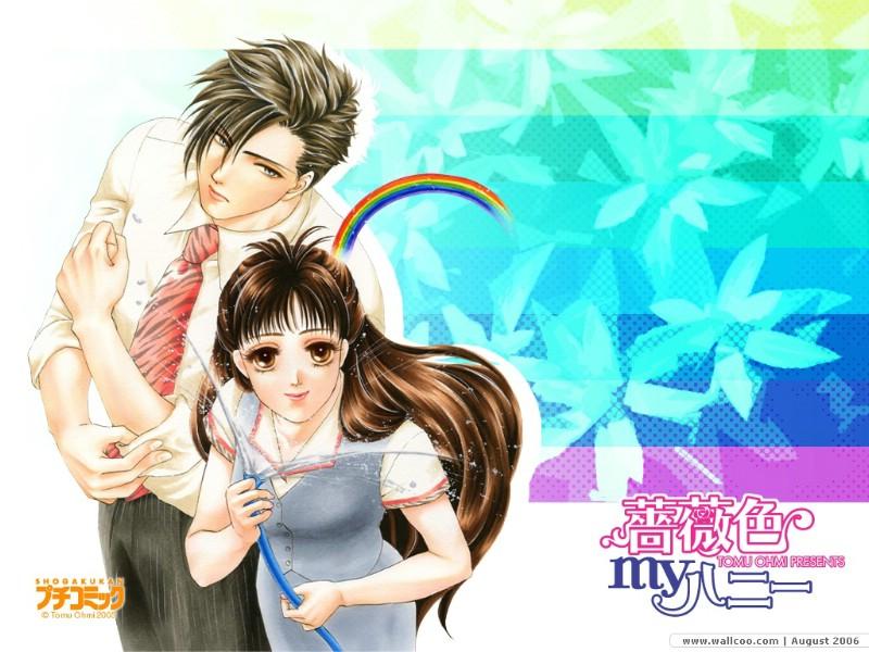 日本漫画情侣