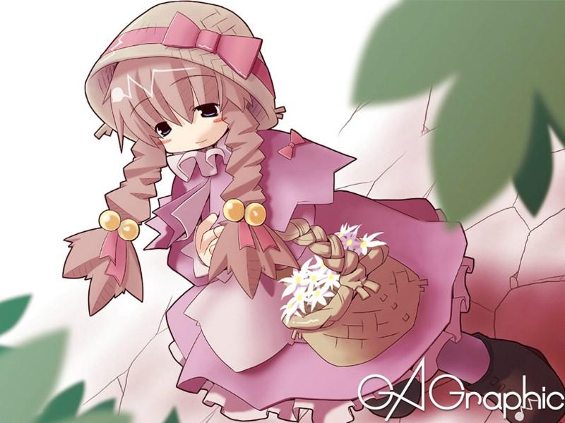 日本漫画美少女壁纸 三
