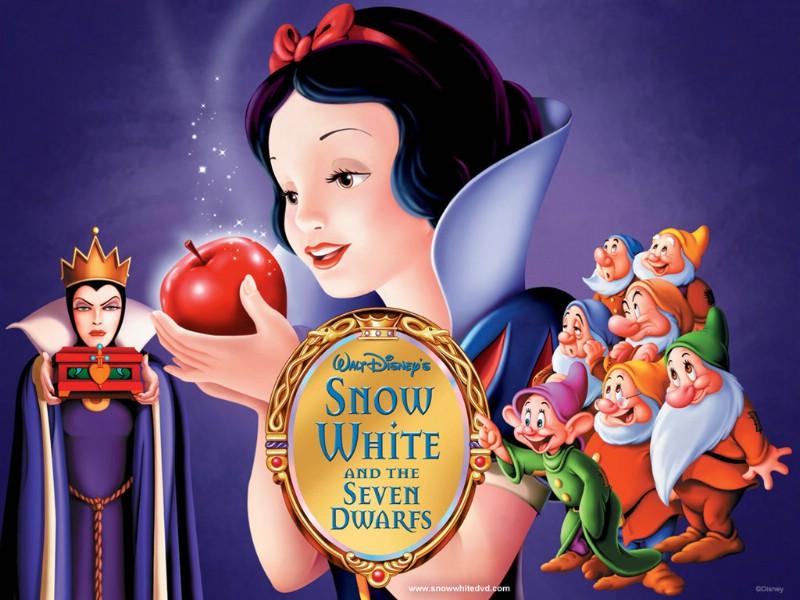 童话故事白雪公主壁纸
