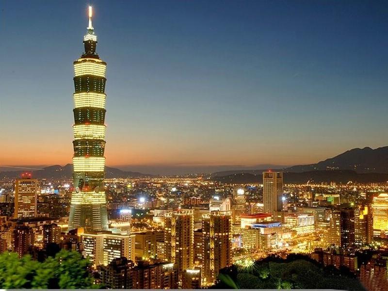【美丽华东】之台北101大楼