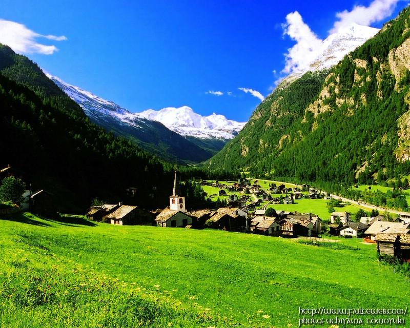 阿尔卑斯山壁纸,阿尔卑斯山壁纸图片-风景壁纸-风景图片素材-桌面壁纸