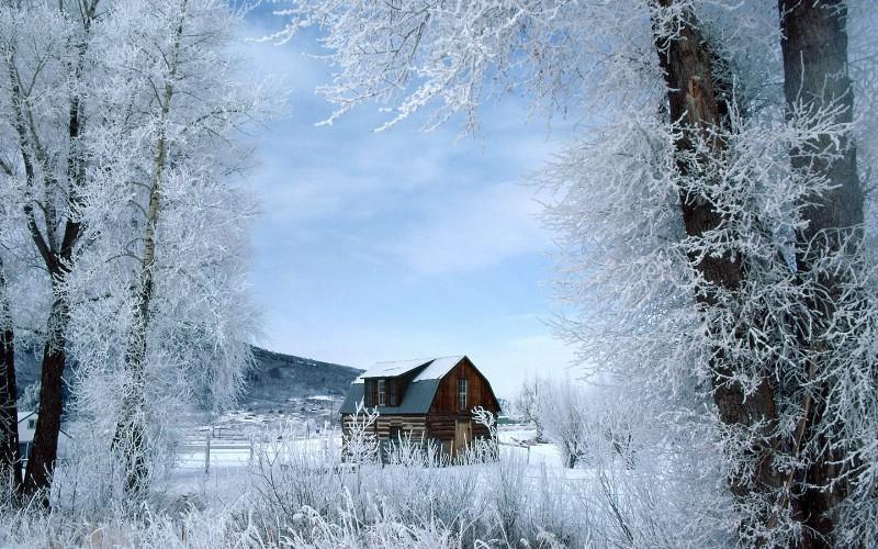 美丽雪景 雪景图片 美丽冬天雪景壁纸壁纸,浪漫雪景壁纸壁纸图片-风景