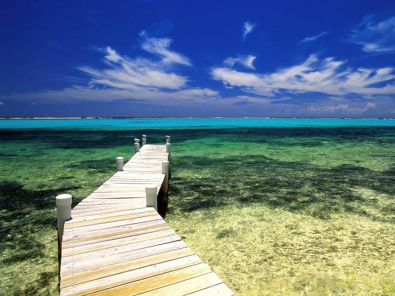 热带岛屿海滩高清风景壁纸 壁纸1壁纸 热带岛