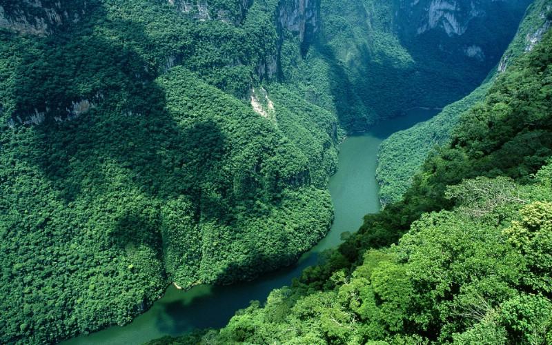 世界名胜之旅 美洲篇 墨西哥 苏米德罗大峡谷图片 Canon ...