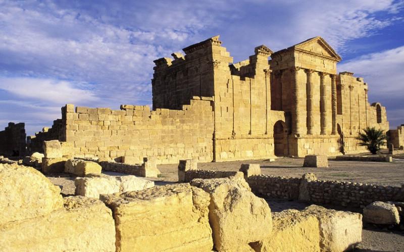 突尼斯 朱庇特和朱诺神殿废墟壁纸壁纸,文化之
