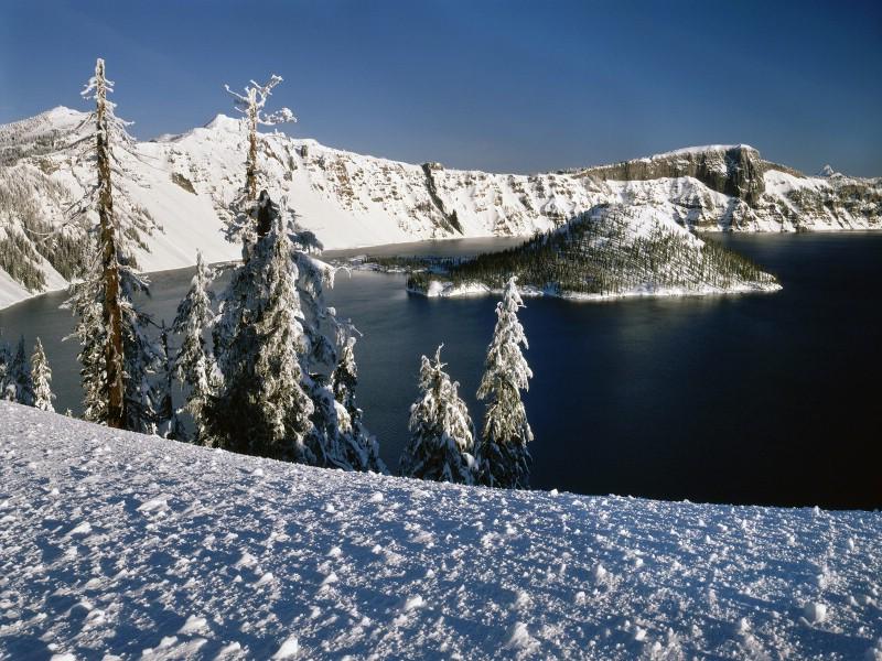 雪景圖片 美麗冬天雪景壁紙