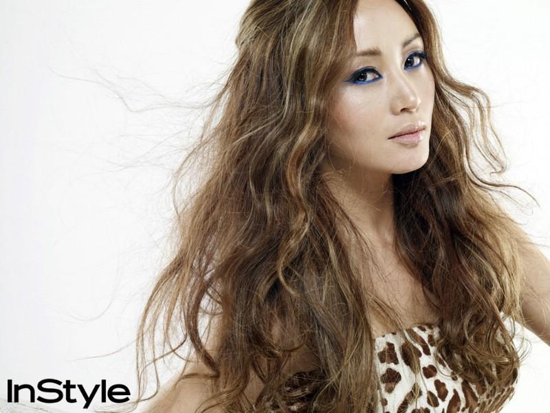 韩国时装杂志 Instylekorea 封面模特 壁纸27壁纸