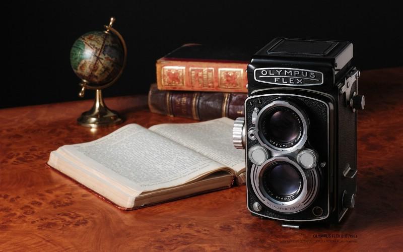 1953年的奥林巴斯古董相机 Olympus Cameras Flex B II壁纸 Olympus 奥林巴斯70年经典相机壁纸上辑壁纸 Olympus 奥林巴斯70年经典相机壁纸上辑图片 Olympus 奥林巴斯70年经典相机壁纸上辑素材 广告壁纸 广告图库 广告图片素材桌面壁纸