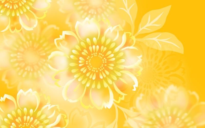 金黄色花卉背景图案设计壁纸 美丽碎花布 之 简洁淡雅系壁纸 美丽碎花布 之 简洁淡雅系图片 美丽碎花布 之 简洁淡雅系素材 花卉壁纸 花卉图库 花卉图片素材桌面壁纸