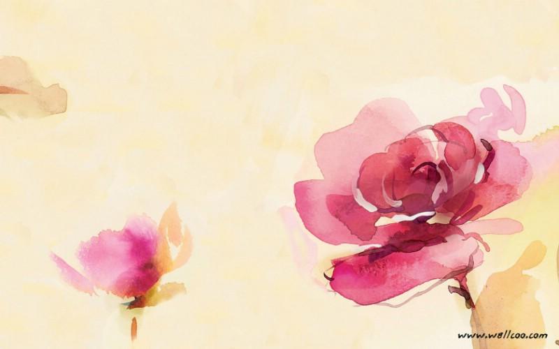 水彩花卉壁纸 水彩风格花卉壁纸壁纸 艺术与抽象花卉壁纸壁纸 艺术与抽象花卉壁纸图片 艺术与抽象花卉壁纸素材 花卉壁纸 花卉图库 花卉图片素材桌面壁纸