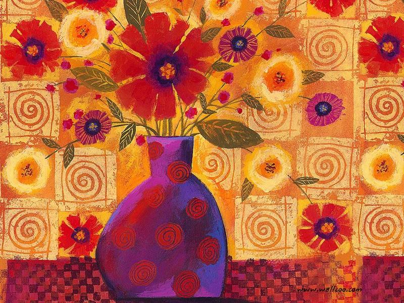艺术花卉壁纸 花卉插画壁纸壁纸 艺术与抽象花卉壁纸壁纸 艺术与抽象花卉壁纸图片 艺术与抽象花卉壁纸素材 花卉壁纸 花卉图库 花卉图片素材桌面壁纸