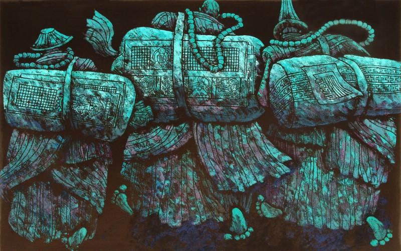 藏族祥巴版画 壁纸1壁纸 藏族祥巴版画壁纸 藏族祥巴版画图片 藏族祥巴版画素材 绘画壁纸 绘画图库 绘画图片素材桌面壁纸