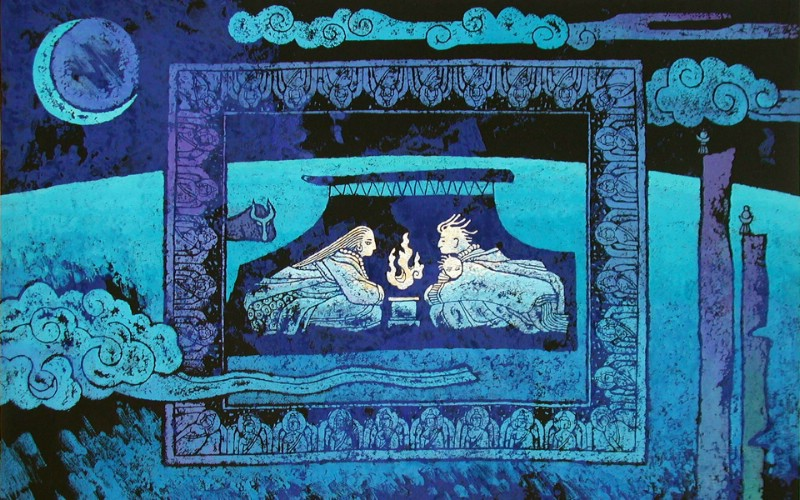 藏族祥巴版画 壁纸4壁纸 藏族祥巴版画壁纸 藏族祥巴版画图片 藏族祥巴版画素材 绘画壁纸 绘画图库 绘画图片素材桌面壁纸
