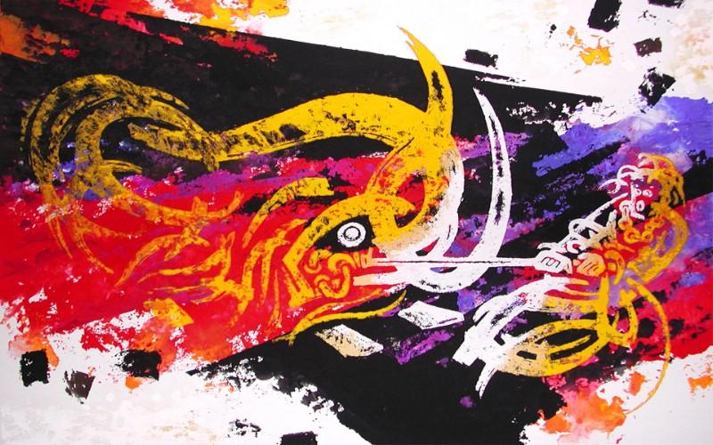 藏族祥巴版画 壁纸5壁纸 藏族祥巴版画壁纸 藏族祥巴版画图片 藏族祥巴版画素材 绘画壁纸 绘画图库 绘画图片素材桌面壁纸